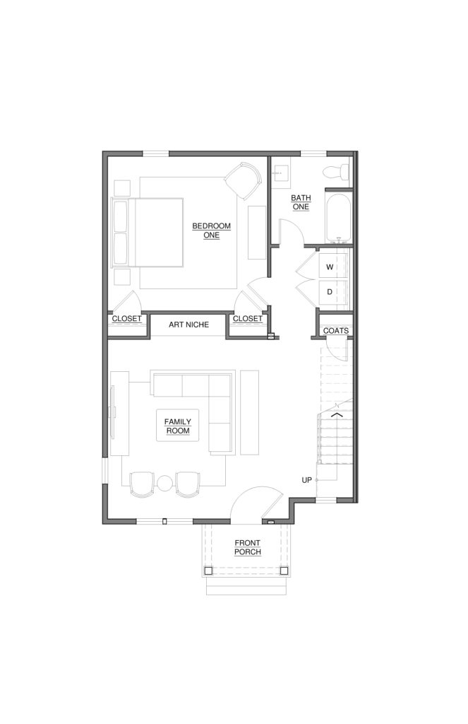 3010 Franklin St - 1st Floor Plan