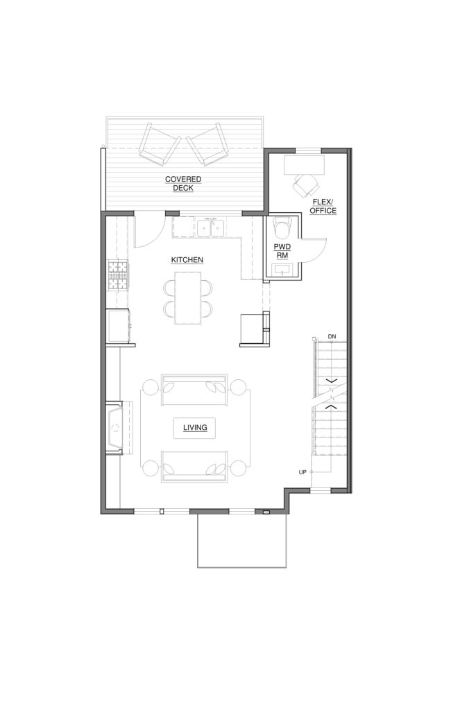 3010 Franklin St - 2nd Floor Plan